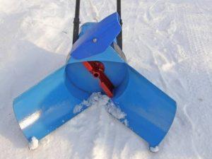Вентиляторный снегоуборщик